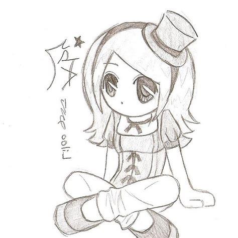Anime Drawing Wallpaper - chibi anime drawings in pencil hd wallpaper drawing artistic