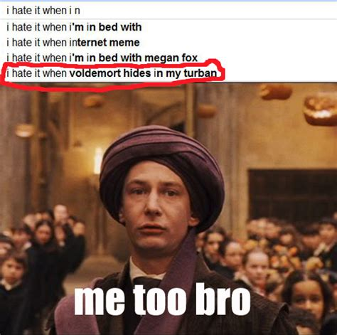 Hp Memes - harry potter lol funny google hp quirrell thebloodybaron