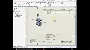 Engt131 Exploded View And Assembly Drawings In Solidworks