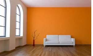 Wand Schwarz Streichen : wand farbe streichen idee wohnzimmer orange gelb wei plus schwarz und themen schlafzimmer beige ~ Fotosdekora.club Haus und Dekorationen