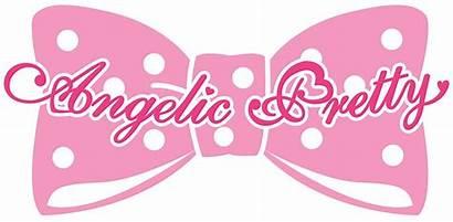 Pretty Angelic Sticker Stickers Cgl Redbubble Egl