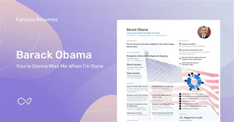 barack obama s resume exle enhancv