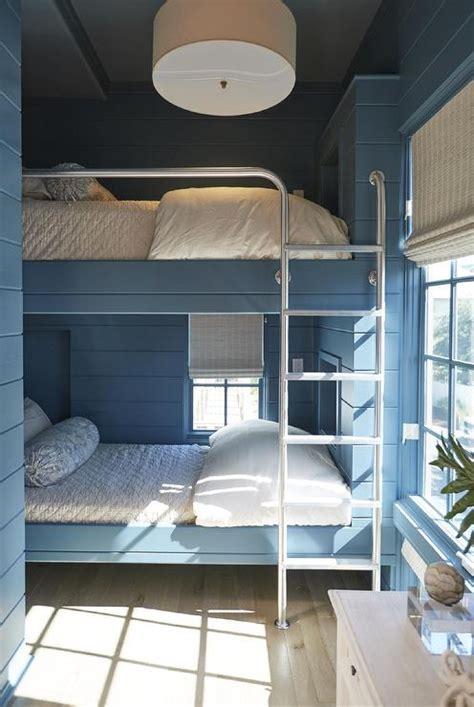 light blue bunk beds  navy blue bunk bed ladders