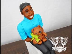 Cake Decorating How To Make A Baby Figurine Out of Fondant ...