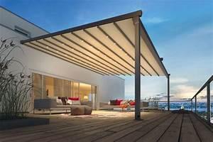der moderne sonnenschutz auf der terrasse livvide With markise balkon mit alte tapete