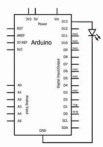Arduino Led Flasher Circuit