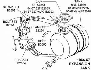 1964-67 Expansion Tank - Diagram View