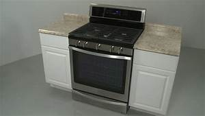 Whirlpool Gas Range Installation  Model  Wfg745h0fs