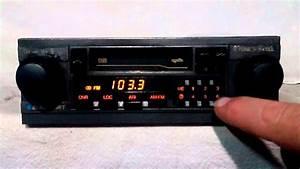 Vintage Blaupunkt Denver Am Fm Cassette Car Stereo