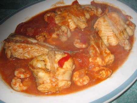 lotte facon sauce armoricaine recette ptitchef