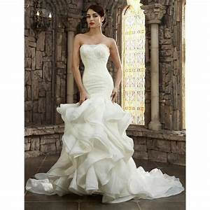 Robe De Mariee Sirene : robe de mari e mariage sir ne longue tra ne bustier ~ Melissatoandfro.com Idées de Décoration