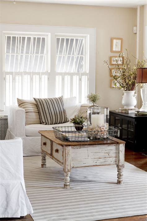 country table ls living room vintage chic living room for the home pinterest