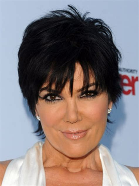 kris jenner and her short layered haircut hair world