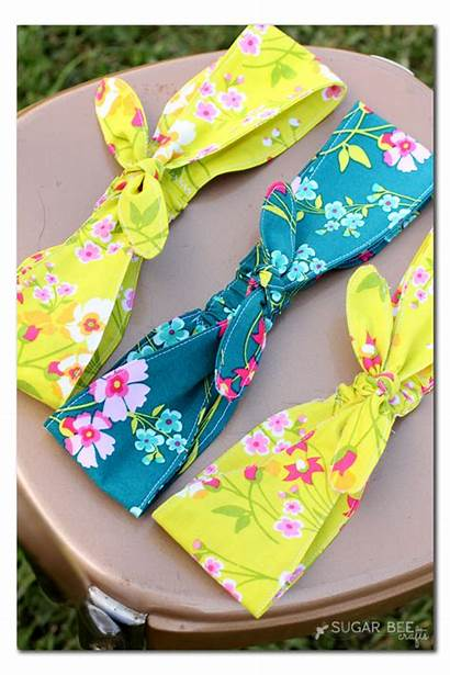 Headband Diy Fabric Crafts Knotted Pattern Headbands