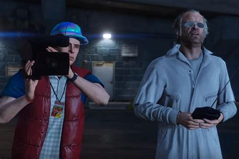 Back To The Future Gta 5 Version  Arcade Punks