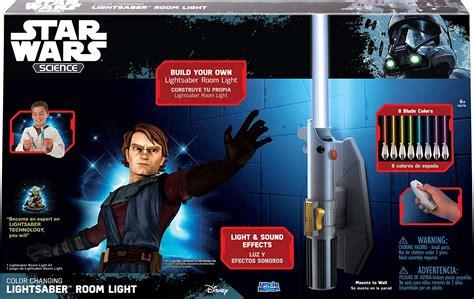 star wars jedi lightsaber remote control build kids room light wall mounted l cad 44 44