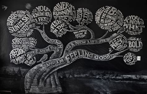 feeling good typography wall art 99inspiration