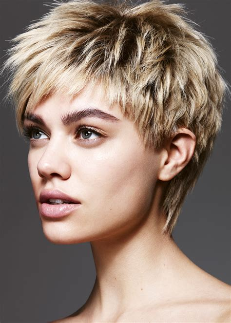 textured short haircuts hairstyle for women man