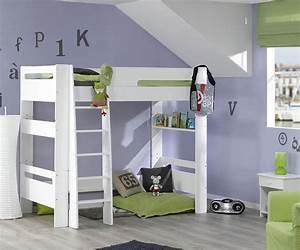 Hochbett Mit Babybett : kinder hochbett paris f r kinderzimmer ~ Orissabook.com Haus und Dekorationen