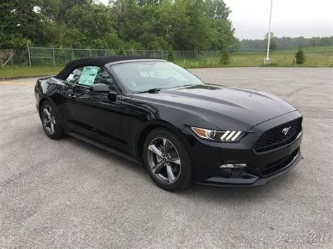 2017 Ford Mustang V6 Specs by 2017 Mustang V6 New 3 7l V6 24v Rwd Convertible 2dr