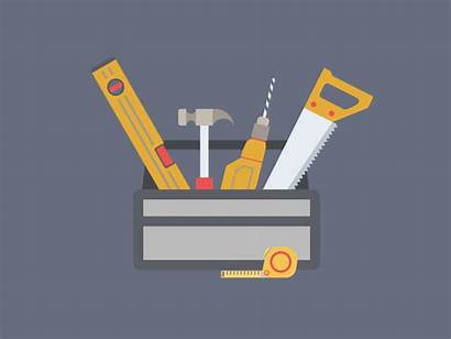Toolbox Animation Construction Dribbble Company Envato Template