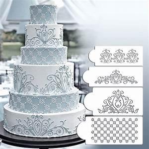 Princess Lace Cake Stencil Set  Cake Craft Stencils  Cake