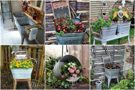 Deko Garten Selber Machen by Gartendeko Selber Machen Eine Zinkwanne Bepflanzen