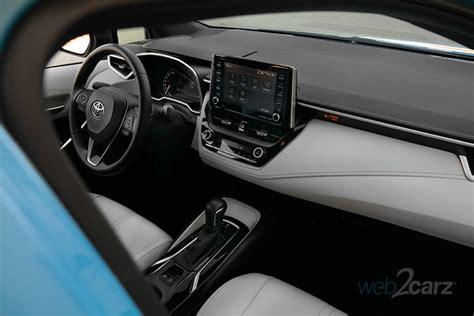 toyota corolla hatchback xse review webcarz