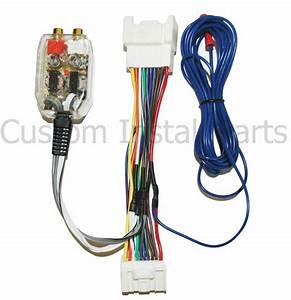 Mitsubishi Add Amplifier Amp Interface Adapter Wiring Wire