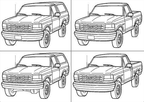 1988 Ford Bronco Fuel Line Diagram by 1983 Ford Bronco Diagrams Pictures And Sounds