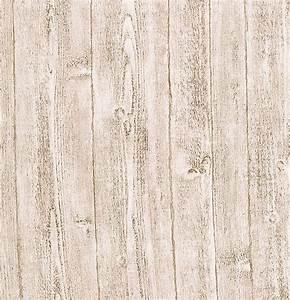 412-56909 Light Grey Wood Panel - Ardennes - Brewster