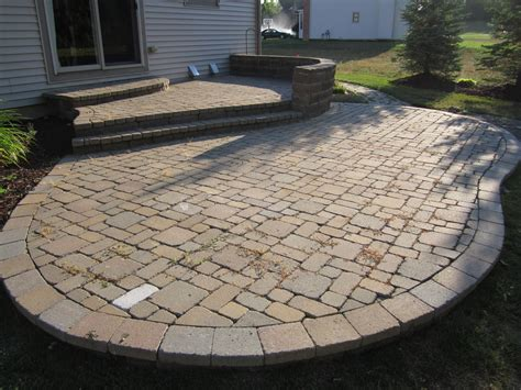 paver patio brick pavers arbor canton patios repair