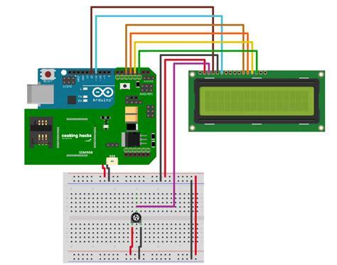 arduino lcd wiring diagram 26 wiring diagram images