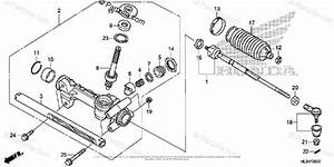 Honda Side By Side 2014 Oem Parts Diagram For Steering