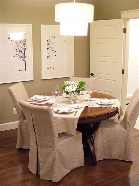 slipcover dining chair slipcovers for dining room chairs that embellish your