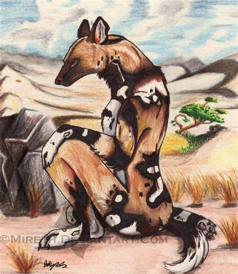 African Wild Dog Anthro By Mireth On Deviantart