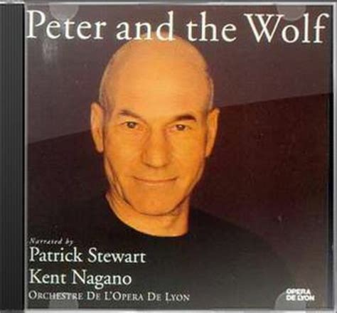 patrick stewart peter and the wolf prokofiev debussy prokofiev peter and the wolf