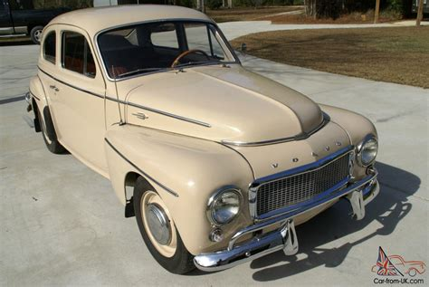 classic volvo 1961 volvo sport pv544 2 door coupe classic vintage no reserve