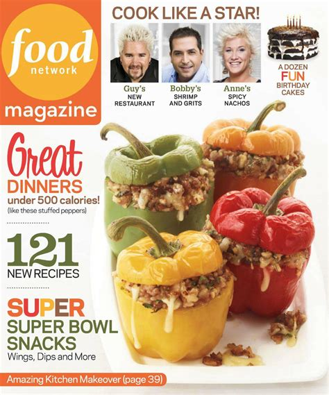 cuisiner magazine get food magazine and recipes january february