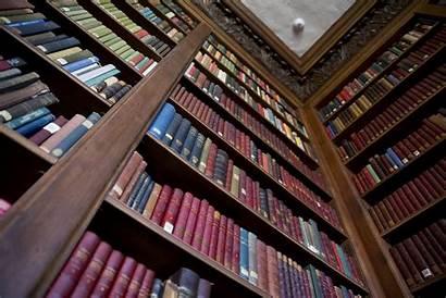 Library Harvard Shelves University Wallpapers Computer Bookshelf