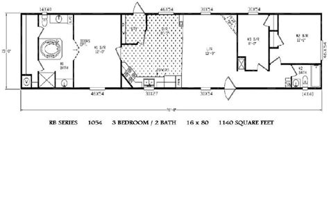 16x80 Single Wides Mobile Home Floor Plans by 16x80 Mobile Home Floor Plans Quotes