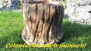 Gartendeko Selber Machen Beton : gartendeko pflanzk bel als baumstumpf aus beton selber machen youtube ~ Heinz-duthel.com Haus und Dekorationen