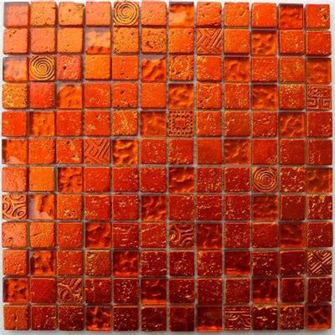Carrelage Salle De Bain Mur Carrelage Mur Salle De Bain Et Metallic Orange