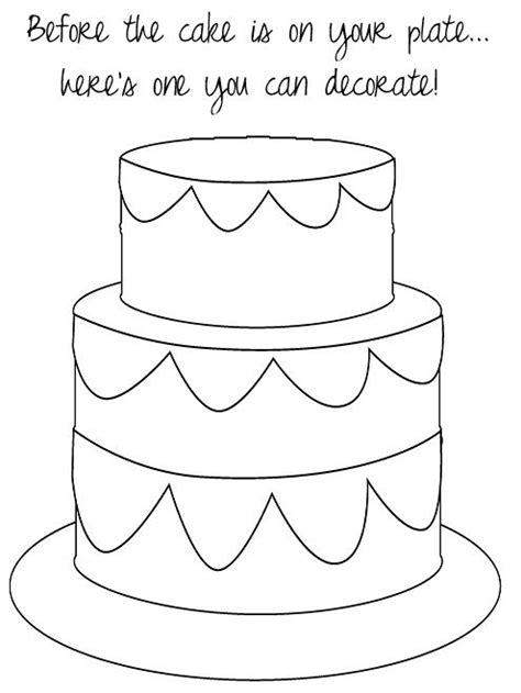 wedding cake coloring page bell rehwoldtcom