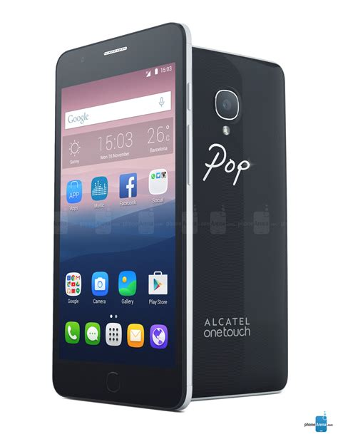 one touch phone alcatel onetouch pop up specs