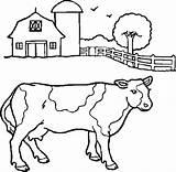 Ranch Coloriages Coloring Par sketch template
