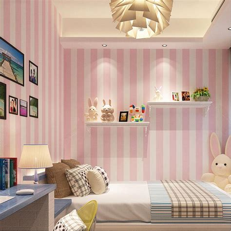 Korean Room Decor by Korean Style Pink Children S Room Bedroom Wallpaper For