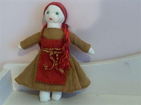 handmade medieval rag doll doll pattern credits
