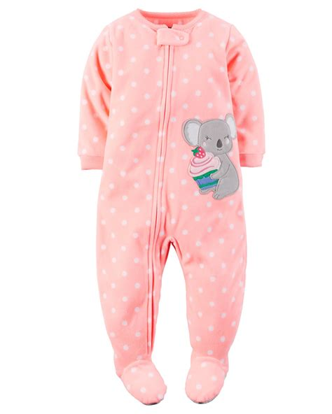 infant sleeper s infant toddler 39 fleece footed pajamas