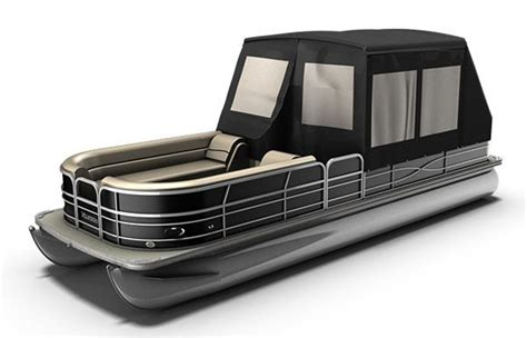 mini troline with enclosure pontoon boat enclosures new 2012 xcursion pontoons x21fc 7517